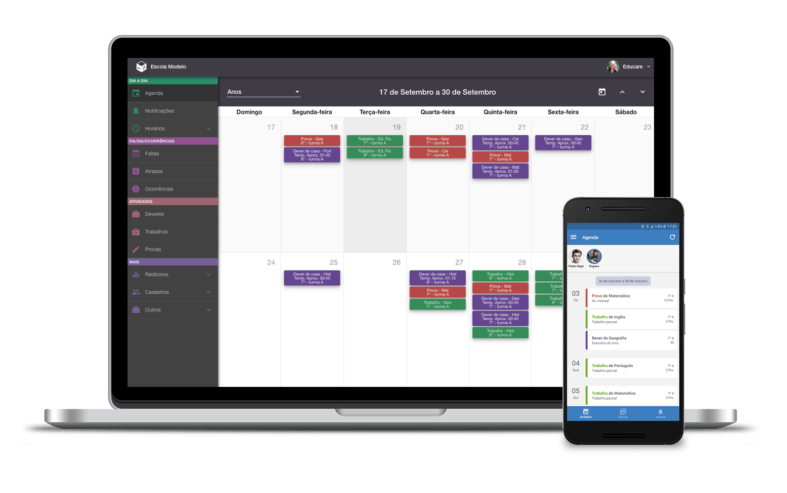 EducareBox - Agenda digital inteligente